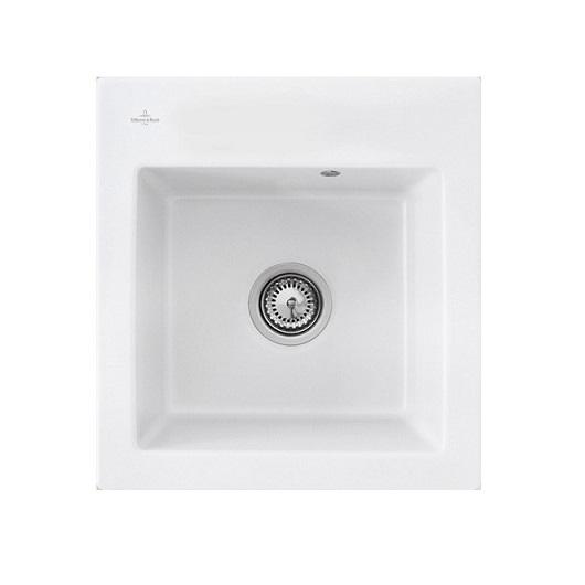 Кухонная мойка Villeroy & Boch Subway 45 XS 678101R1 (6781 01 R1) CeramicPlus (475×510 мм)