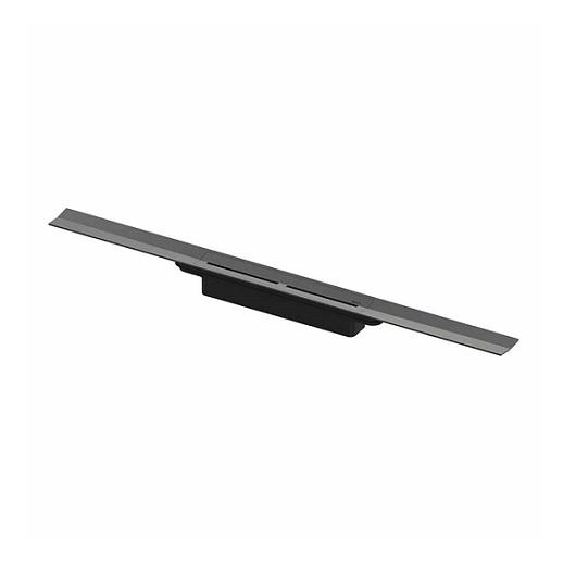 Дренажный канал TECE TECEdrainprofile 670811 обрезной (PVD глянцевый, черный хром, 500-800 мм)