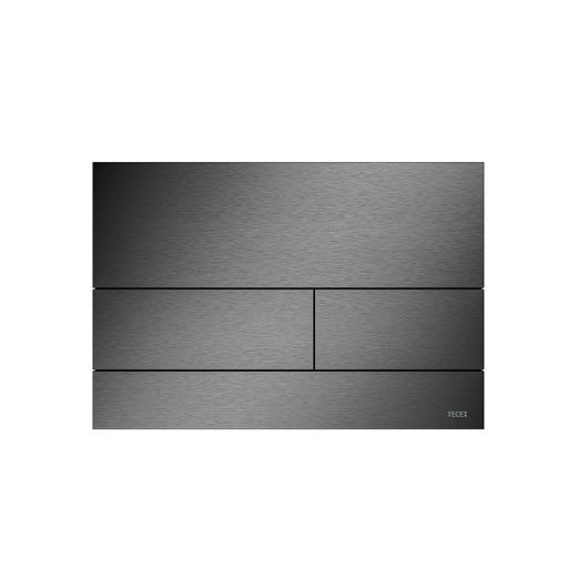 Металлическая панель смыва TECE TECEsquare ll 9240836 (PVD сатин, черный хром)