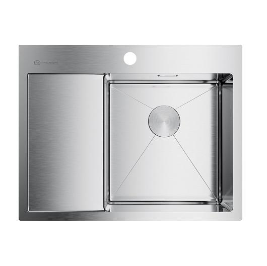 Мойка кухонная Omoikiri Akisame 65 IN-L 4973059 (нержавеющая сталь, 650х510 мм)