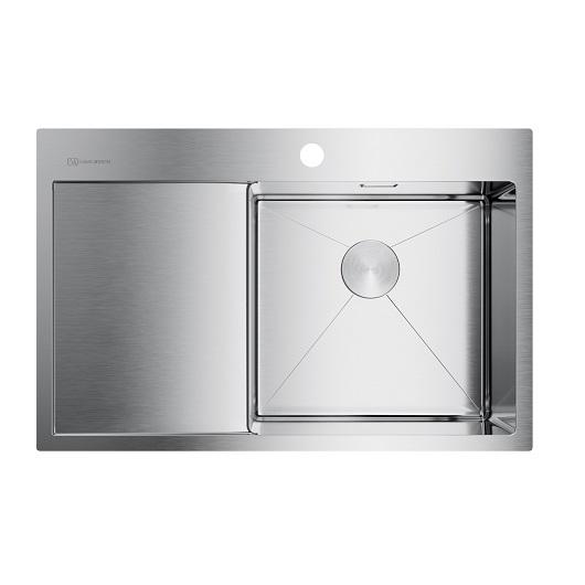 Мойка кухонная Omoikiri Akisame 78 IN-R 4973061 (нержавеющая сталь, 780х510 мм)