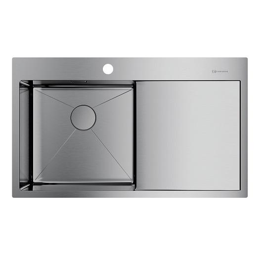 Мойка кухонная Omoikiri Akisame 86 IN-L 4993760 (нержавеющая сталь, 860х510 мм)