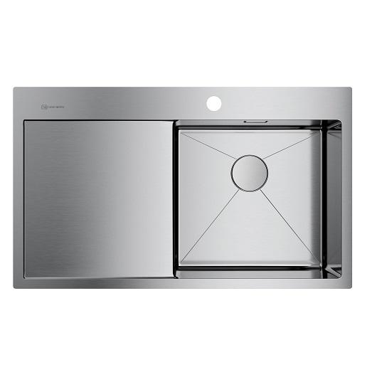 Мойка кухонная Omoikiri Akisame 86 IN-R 4993763 (нержавеющая сталь, 860х510 мм)