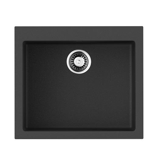 Мойка кухонная Omoikiri Bosen 57 BL 4993145 (черный, 570х500 мм)