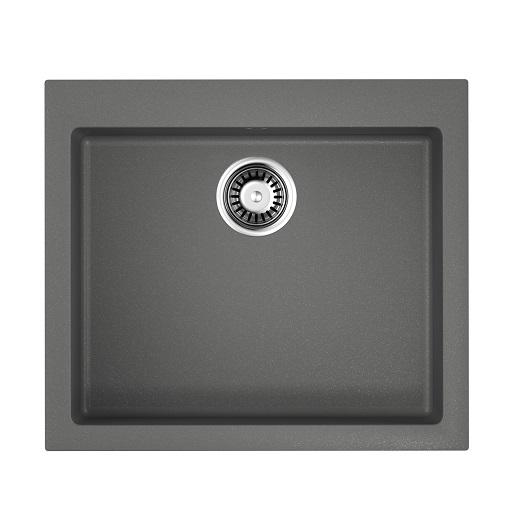Мойка кухонная Omoikiri Bosen 57 PL 4993221 (платина, 570х500 мм)