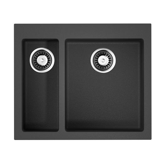 Мойка кухонная Omoikiri Bosen 59-2 BL 4993149 (черный, 590х500 мм)