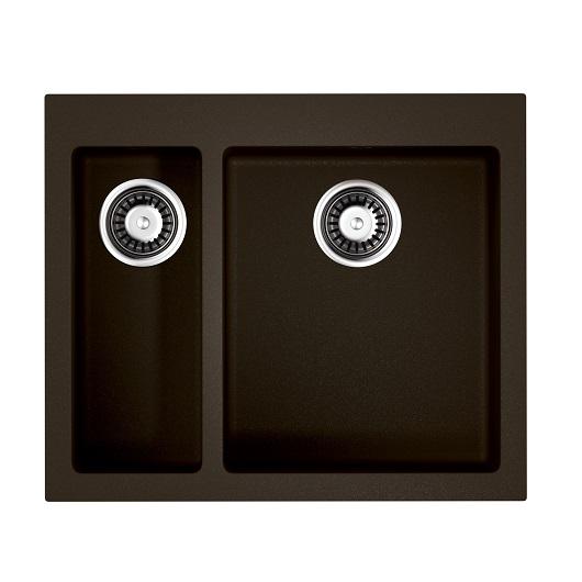 Мойка кухонная Omoikiri Bosen 59-2 DC 4993223 (темный шоколад, 590х500 мм)