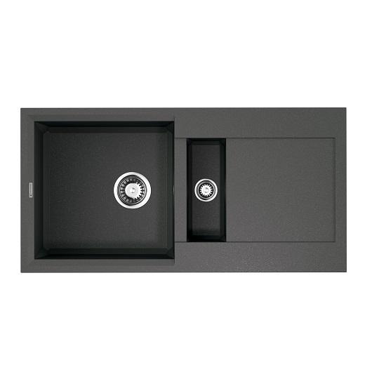 Мойка кухонная Omoikiri Sakaime 86-2 PL 4993203 (платина, 860х435 мм)