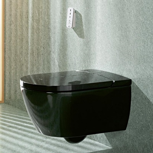 Унитаз-биде подвесной Villeroy & Boch ViClean-I100 V0E100S0 (V0E1 00 S0) CeramicPlus, DirectFlush