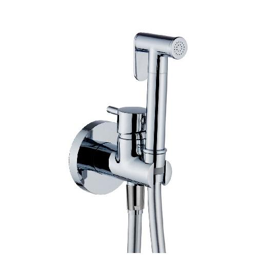 Гигиенический набор Huber Shower TV00795521 (хром глянцевый) со смесителем