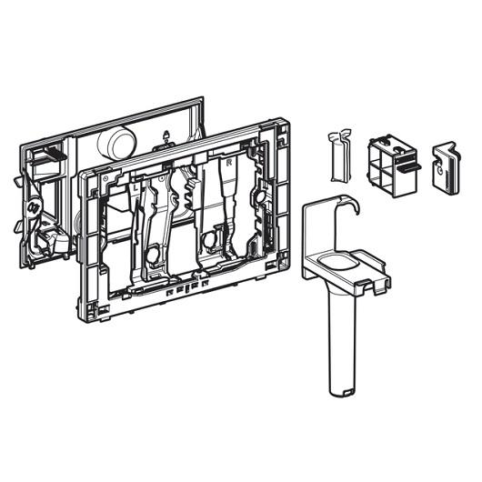 Приемник для цилиндриков Geberit DuoFresh 115.062.BZ.1 (для смывных бачков скрытого монтажа Sigma 12 см)