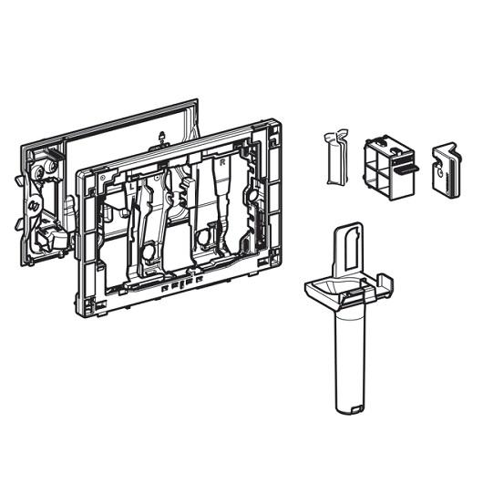 Приемник для цилиндриков Geberit DuoFresh 115.063.21.1 (для смывных бачков скрытого монтажа Sigma 8 см)