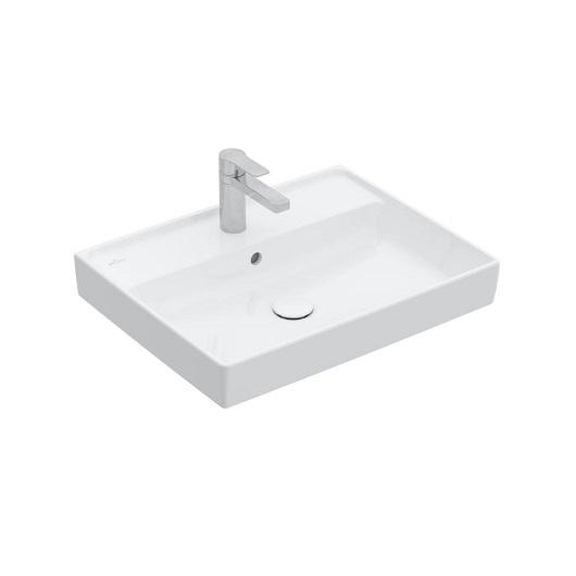 Раковина Villeroy & Boch Collaro 4A336GRW (4A33 6G RW) Stone White, CeramicPlus (600х470 мм)
