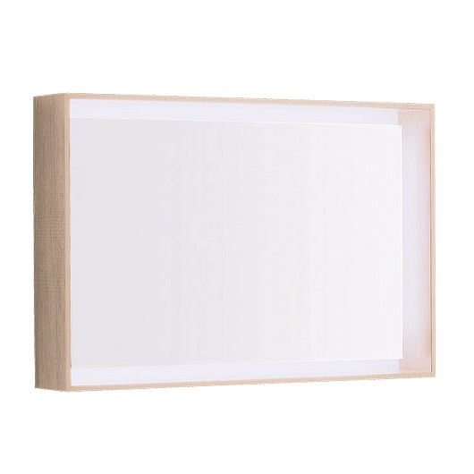 Зеркало Geberit Citterio 500.572.JI.1 (светлый дуб, 884х584 мм)