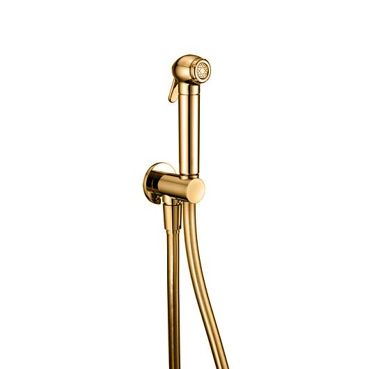 Гигиенический набор Cisal Shower SC00791024 (золото) с предохранительным клапаном