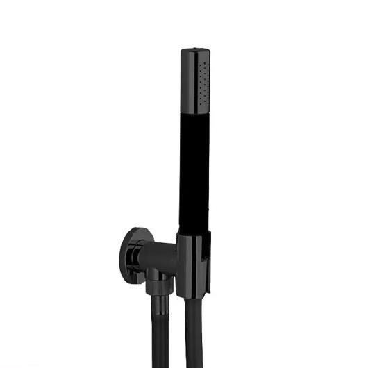 Душевой набор Cisal Shower DS01881340 (черный матовый)