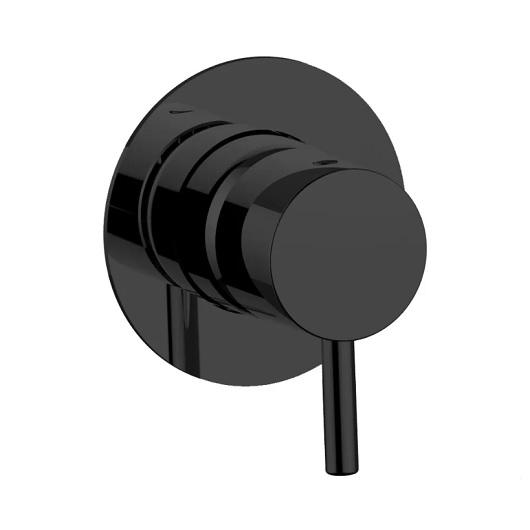 Смеситель для душа Cisal Less New LN00300040 (черный матовый)