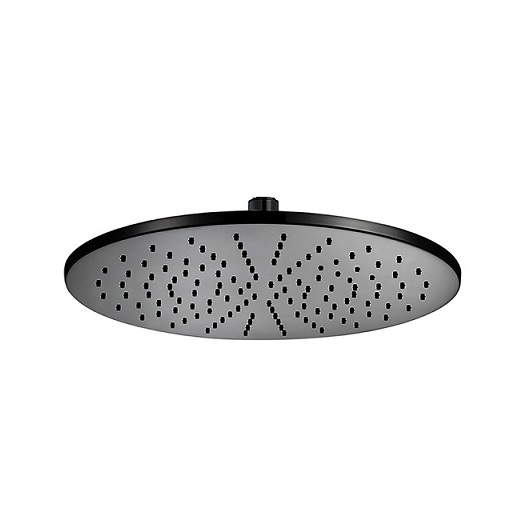 Верхний душ Cisal Shower DS01633040 (300 мм, черный матовый)