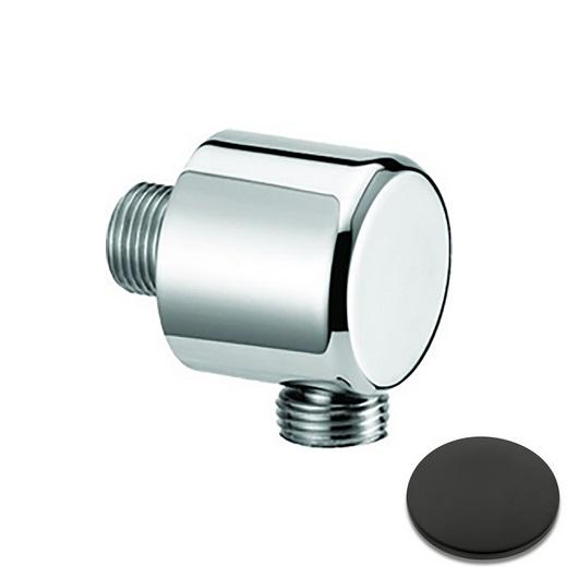 Шланговое подсоединение Cisal Shower DS01732040 (черный матовый)