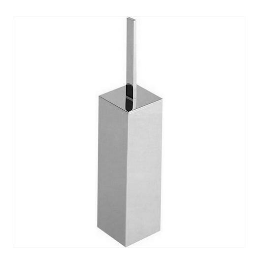 Туалетный ершик напольный Cisal Quad QU09065021 (хром глянцевый)