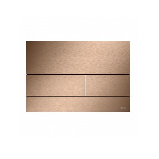 Металлическая панель смыва TECE TECEsquare ll 9240840 (PVD сатин, красный позолоченный)