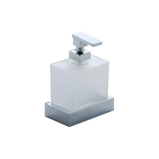 Дозатор жидкого мыла настенный Cisal Quad QU09062121 (хром глянцевый)