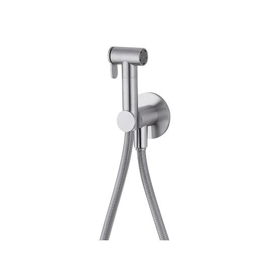 Гигиенический набор Cisal Xion XI007915D1 (нержавеющая сталь) с предохранительным клапаном