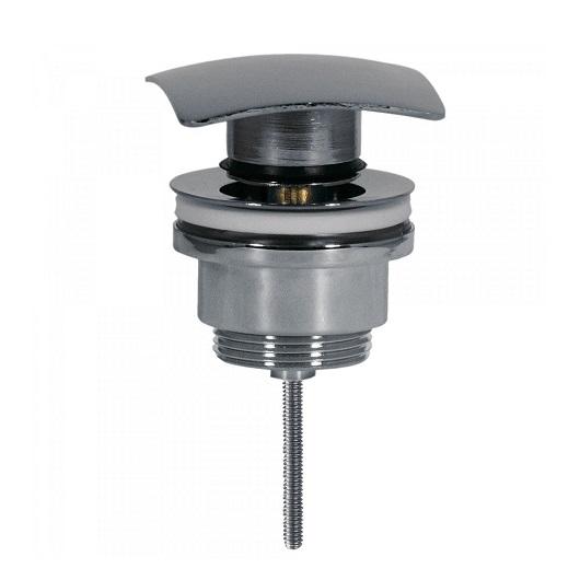 Нажимной донный клапан TRES Simple-Rapid 13434010 (хром глянцевый) универсальный