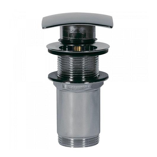 Нажимной донный клапан TRES 13434120 (хром глянцевый) для раковин без перелива