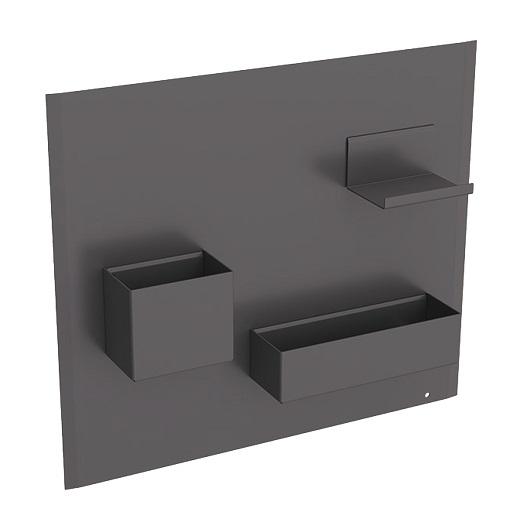 Комплект магнитной доски Geberit Acanto 500.649.JK.2 (темно-серый)