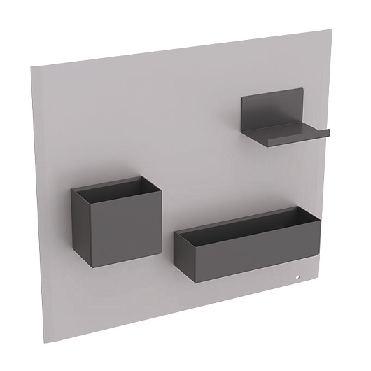 Комплект магнитной доски Geberit Acanto 500.649.JL.2 (песчаный)