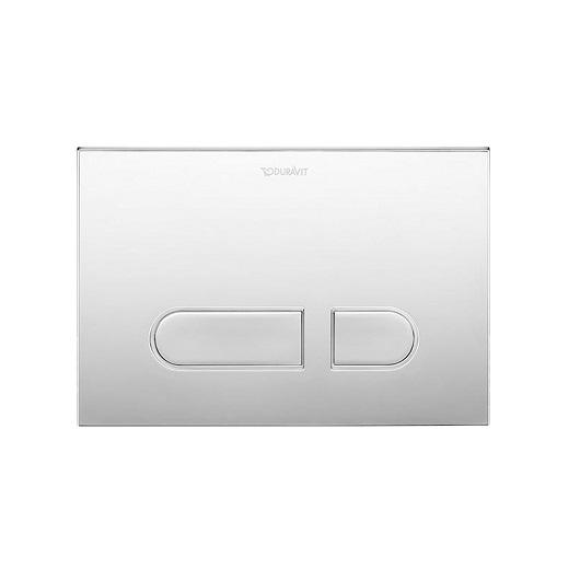 Клавиша смыва Duravit DuraSystem A1 WD5001021000 (хром глянцевый)
