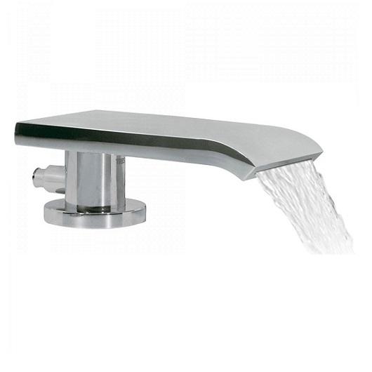 Каскадный излив на борт ванны TRES 16216150 (хром глянцевый)