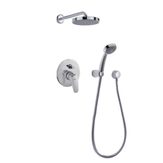Душевая система TRES Showers Pol 07488007 (хром глянцевый)