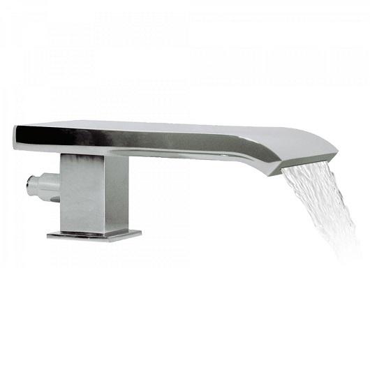 Каскадный излив на борт ванны TRES 18718250 (хром глянцевый)