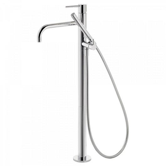 Смеситель для ванны TRES Study Exclusive 26247001 (хром глянцевый) напольный