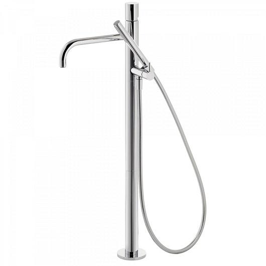 Смеситель для ванны TRES Study Exclusive 26247002 (хром глянцевый) напольный