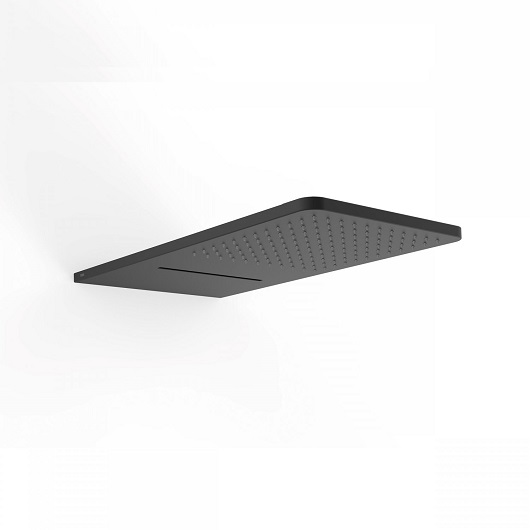 Верхний душ TRES Showers 29990308NM (280х550 мм) черный матовый