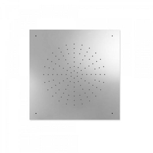 Верхний душ TRES Showers 29995302 (500х500 мм, хром глянцевый) потолочный