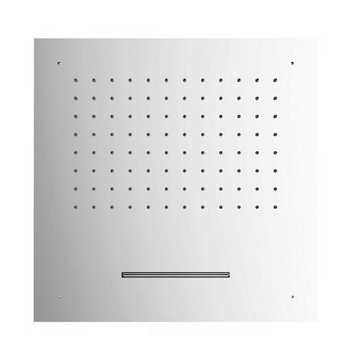 Верхний душ TRES Showers 29995501 (500х500 мм, хром глянцевый) потолочный