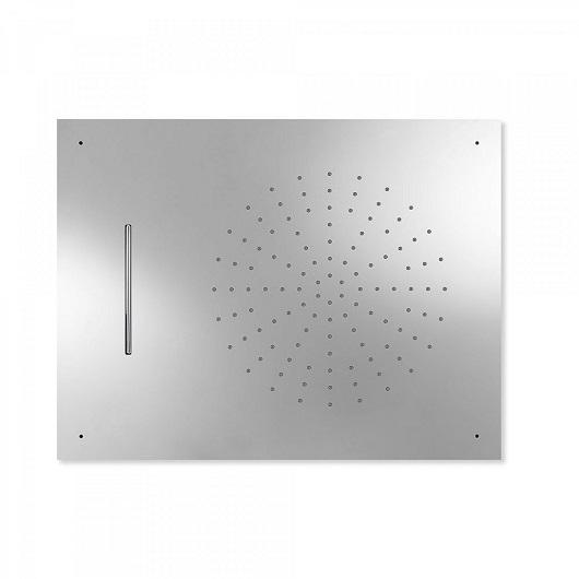 Верхний душ TRES Showers 29997001 (500х650 мм, хром глянцевый) потолочный