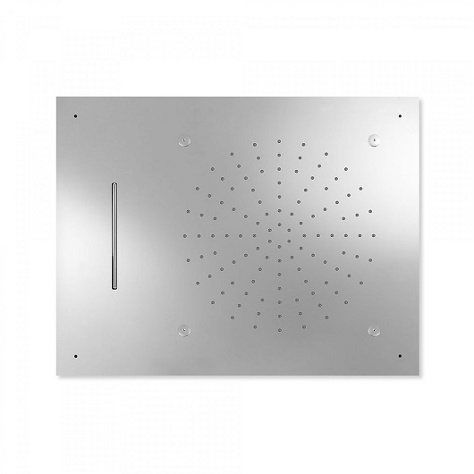 Верхний душ TRES Showers 29997101 (500х650 мм, хром глянцевый) потолочный