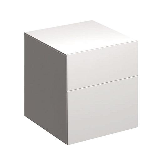 Шкаф боковой Geberit Xeno² 500.504.01.1 (белый глянец, 450х510 мм)