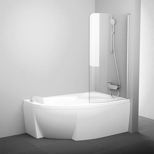 Шторка для ванны Ravak CVSK1 160/170 R 7QRS0U00Y1 (Правая, профиль сатин)