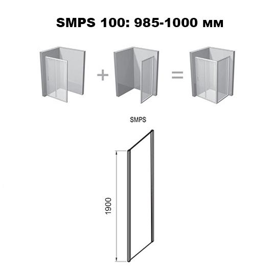 Боковая стенка Ravak SmartLine SMPS-100 L 9SLA0A00Z1 (левая, 1000х1900 мм)