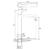Смеситель для раковины Ravak Puri PU 015.00 X070114 (320 мм)