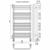Полотенцесушитель Terminus Стандарт П20 532х1006 мм 4620768886836 (хром)