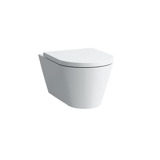 Чаша подвесного унитаза Laufen Kartell by Laufen 2033.7 (8.2033.7.000.000.1, безободковая Rimless)