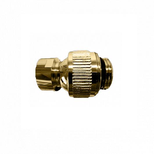Шарнирное соединение для верхнего душа Margaroli Hi-tech 199 (1/2″HP-1/2″BP) золото