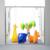 Душевая дверь Ravak Blix BLDP4-130 0YVJ0C00Z1 (1300х1900мм) профиль блестящий/стекло Transparent